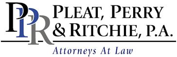 Pleat, Perry & Ritchie, P.A. - Benefit From Our Experience
